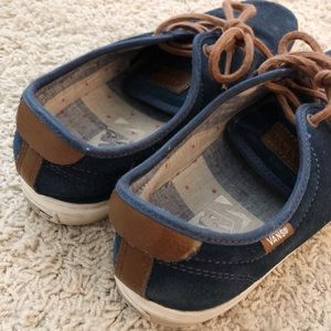 Vans Shoes - Men's Navy & Tan Vans Sneakers